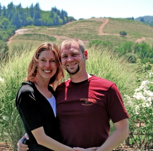 Katie and Randy in Sonoma