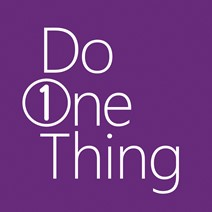 do one thing